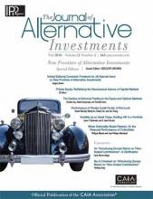 The Journal of Alternative Investments: 21 (2)