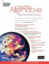 The Journal of Alternative Investments: 23 (1)